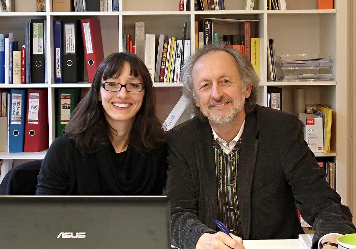 Bmstr. Ing. Walter Rössl und Martina Rössl